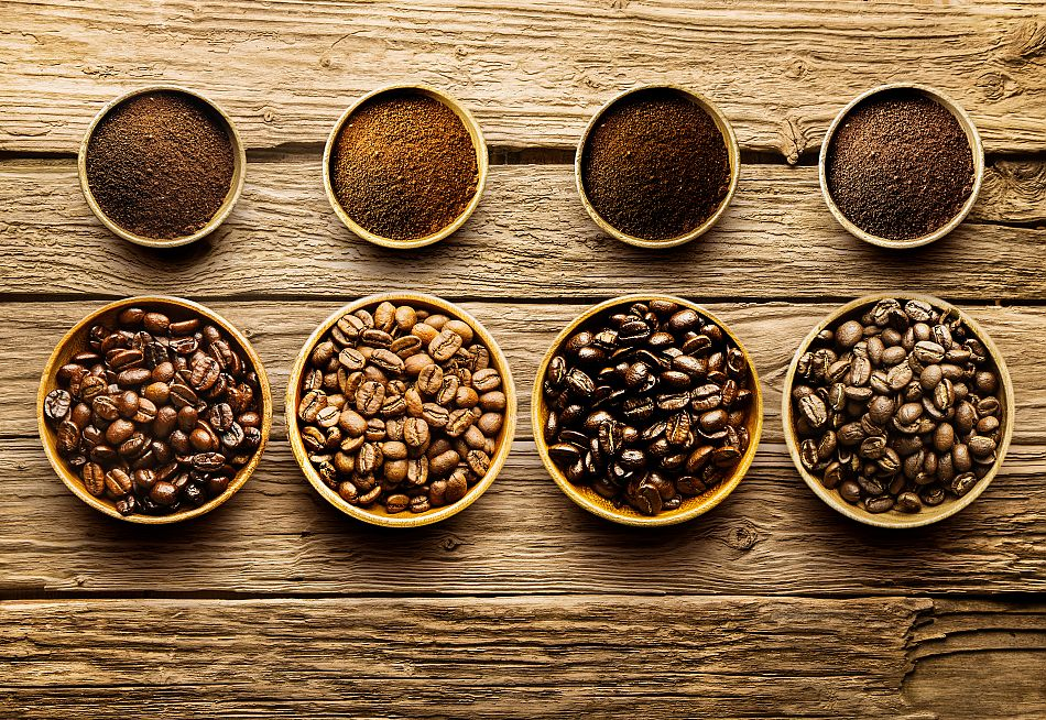 Обжарка натуральних кавових зерен