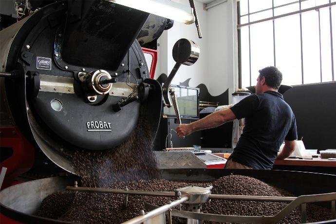 тип ростерів зернової кави