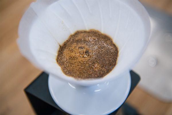 предсмачивание кофе