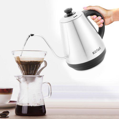 Чайник для пуровера, заварювання зернової кави